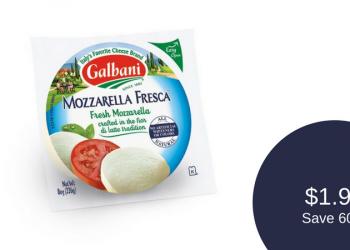 Galbani Coupon, Only $1.99 for Mozzarella Fresca