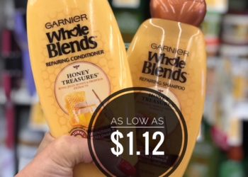 Garnier Sale – Pay as Little as $1.12 for Whole Blends, Nutrisse Hair Color & SkinActive