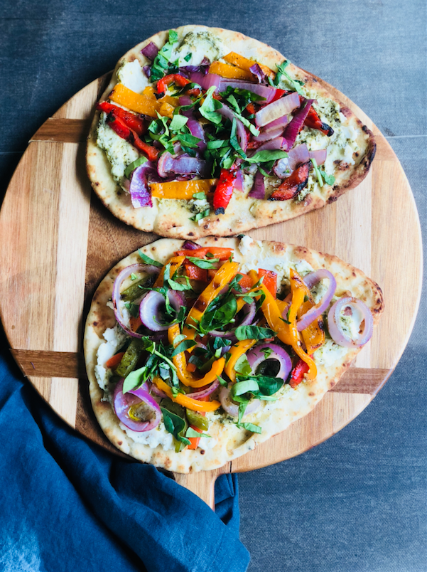 Grilled Flatbread Pizza Recipe