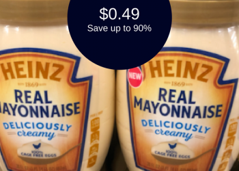 Heinz Mayo Deal, ONLY $0.49