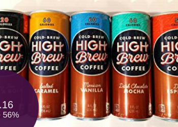 High Brew Coffee for as Low as $1.16 (Save up to 56%)