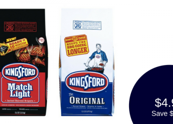 Kingsford Charcoal Coupon – Only $4.99 (10.6 to 16 Lb. Bags)