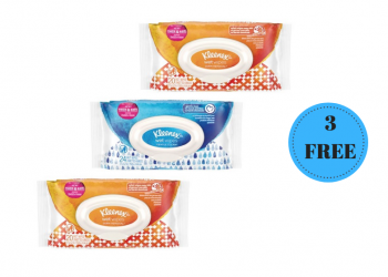 3 FREE Kleenex Wet Wipes and Facial Tissues Only 66¢ a Box at Safeway