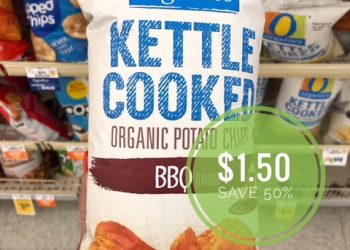 O Organics Kettle Cooked Chips Just $1.50 at Safeway (Save 50%)