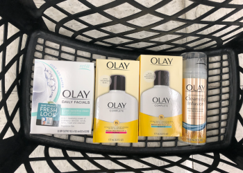 Olay Daily Facials Just $2.24, Cleansing Infusion $2.74 (Reg. $7.99) and Olay Complete Just $5.32 (Reg. $11.99)