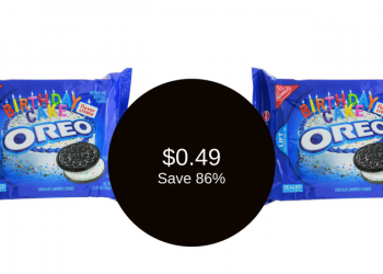 Oreo Cookies Coupon & Sale, ONLY $0.49 (Save 86%)