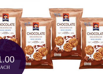 Quaker Rice Crisps Only $1.00 at Safeway (Save 56%)