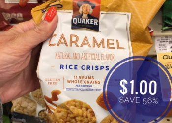 Quaker Rice Crisps Only $1.00 at Safeway (Save 56%)