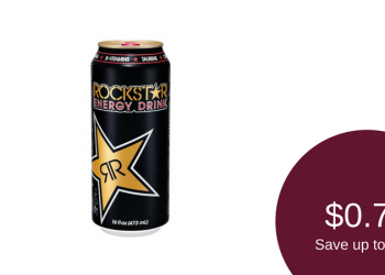 Rockstar Energy Drink for as Low as $0.75 ($1.00 Per Can on Sale)
