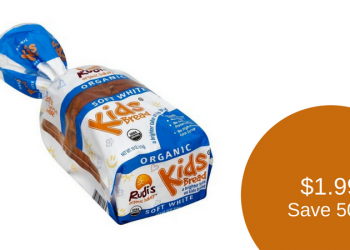 Rudi's Organic Bakery Kids Bread for $1.99 (Save 50%)