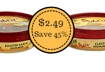 Sabra Hummus Only $2.49 at Safeway (Save 45%)