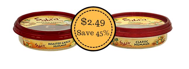 Sabra Hummus sale
