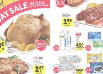Safeway 2 Day Sale – Friday & Saturday