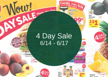 Safeway 4 Day Sale (Thursday – Sunday)