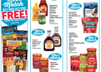 Buy One Get One Free Hot Dog and Condiment Sale at Safeway – Save 50%+