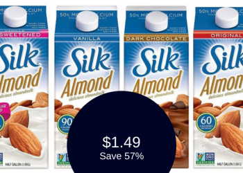 Silk Almondmilk Coupon & Sale, Only $1.49