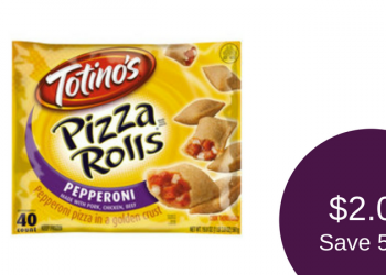 Totino's Pizza Rolls for as $2.00 (40 Count Packages)