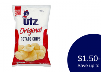 Utz Chips on Sale for $2.00, Pay as Low as $1.50 Wednesday ONLY