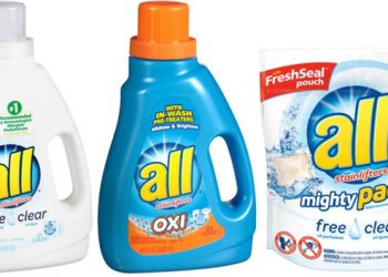 all Laundry Detergent & Snuggle Coupon, ONLY $0.99 (Save up to 83%)