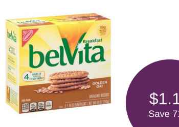 belVita Coupon, Pay as Low as $1.17 for Breakfast Biscuits