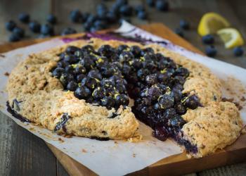 Lemon Blueberry Galette Recipe