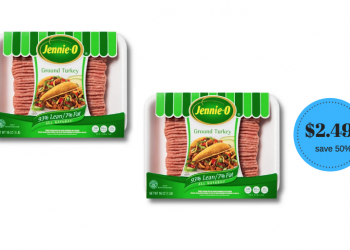 New Jennie-O Ground Turkey Coupon, Pay Just $2.49 at Safeway