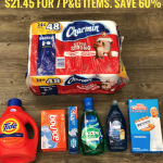 Get 7 P&G Items Including 100 oz Tide and 24 Rolls of Charmin for Just $21.45 ($3.06 each)