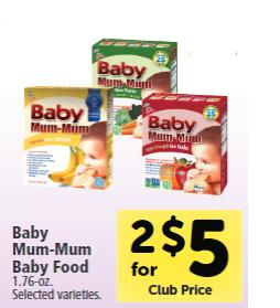 Baby Mum Mum ad