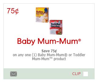 Baby Mum Mum coupon
