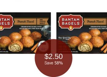 Bantam Bagels Coupon & Sale, Only $2.50 (Save 58%)