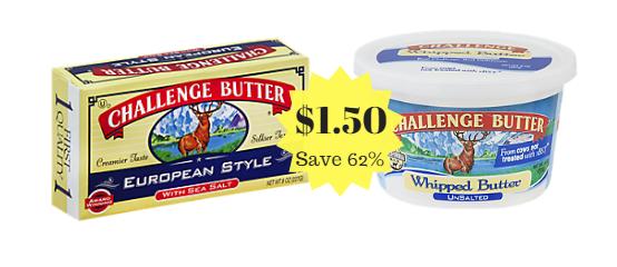 Challenge Butter sale