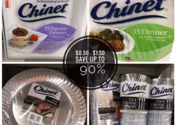 Chinet Plates & Cutlery as Low as $0.50 to $1.50 at Safeway
