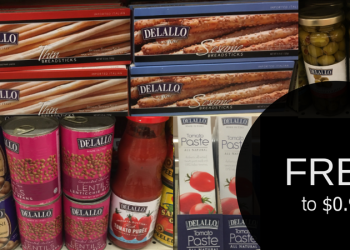 DeLallo Coupons – FREE Lentils, $0.29 Beans, $0.49 Breadsticks, & More