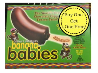Diana's Banana Babies Buy One Get One Free (Reg. $4.99)
