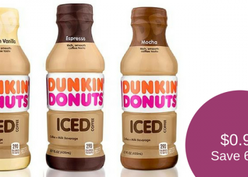 Dunkin Donuts Iced for $0.99 (Save 62%)