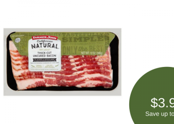 Farmer John Bacon Sale – Pay $3.99 (Save up to 56%)