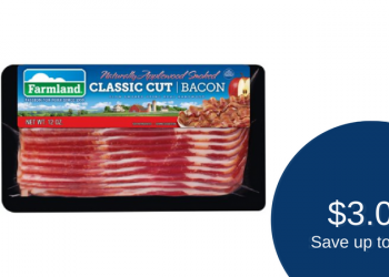 Farmland Bacon Deal – Pay as Low as $3.00 (Save up to 57%)
