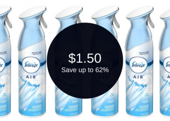 Febreze Coupons – Pay $1.50 for Air Care Products