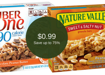 Fiber One Bars & Nature Valley Bars for ONLY $0.99