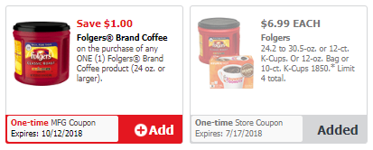 Folgers Coffee For As Low As 5 99 Save Up To 4 Super