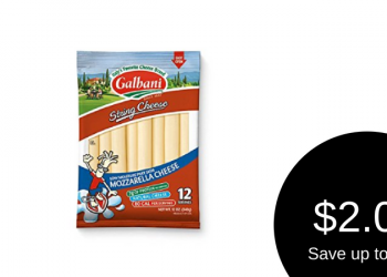 Galbani Coupon & Sale, Only $2.00 for String or Snack Cheese
