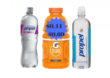 Gatorade & Propel Beverages Sale – $0.44 to $0.69 Stock Up & Save!