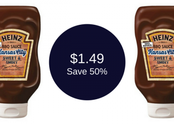 Heinz BBQ Sauce for $1.49 (Grab and Go)