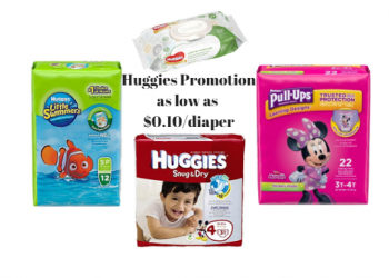 Get Huggies Diapers as Low as 10¢ Each with new Huggies Catalina, Sale and Coupons