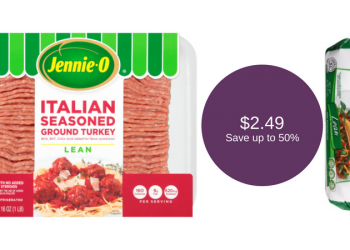 NEW Jennie-O Ground Turkey Coupon, Only $2.49 (Save up to 50%)