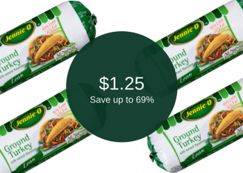 Jennie-O Ground Turkey – $1.25 Each for 4 Packages