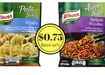 Knorr Pasta and Rice Sides Only $0.75 at Safeway (Save 50%)