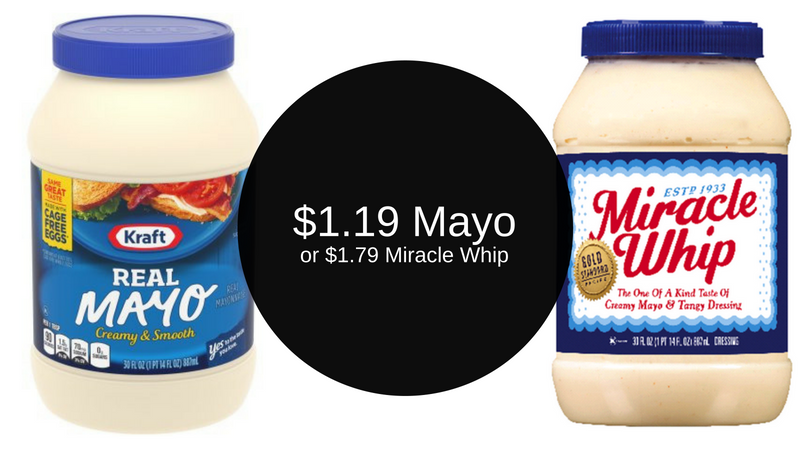kraft mayo 1 19 miracle whip 1 79 after deals super safeway