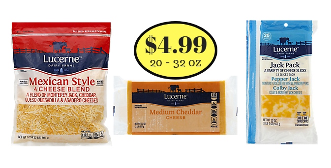 Lucerne Cheese Sale