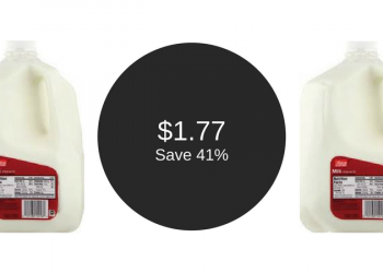 Milk Coupon, Pay $1.77 for Value Corner Gallons (Valid Friday – Sunday)